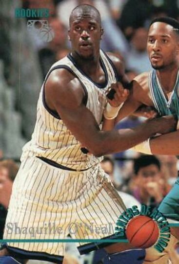 shaquille o'neal centers of attention rookies