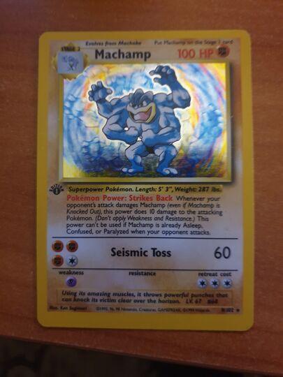 first edition Machamp