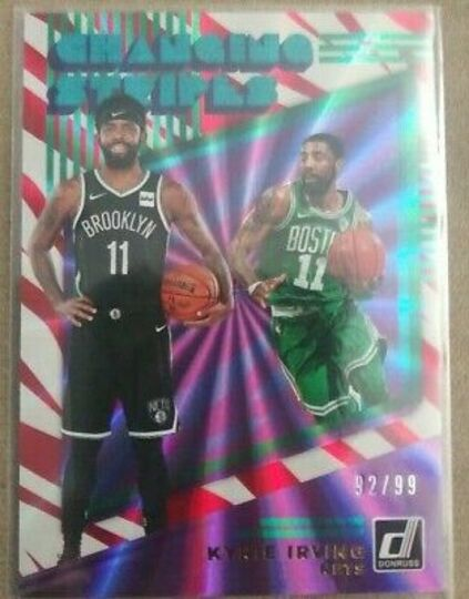 changing stripes kyrie irving red holo laser
