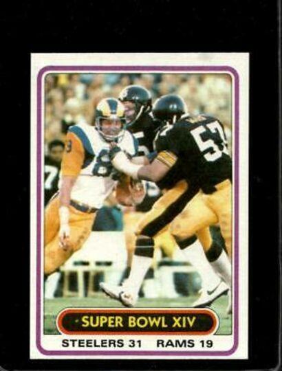 1980 topps super bowl xiv
