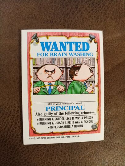 Garbage Pail Kids Series 3 Complete  Collection Image