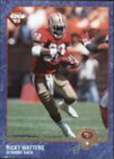 collectors edge 93 ricky watters