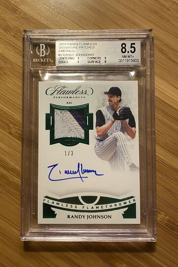 2019 Flawless Emerald Randy Johnson