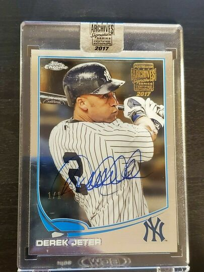 2017 Topps Chrome Archives Derek Jeter #1/1