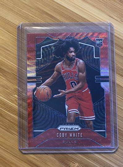 2019-20 Panini Prizm Red Wave Coby White