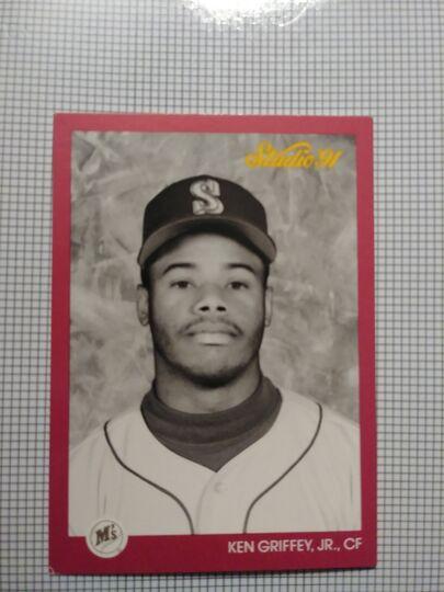 1991 Leaf Ken Griffey Jr