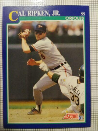 1991 Score Cal Ripken Jr