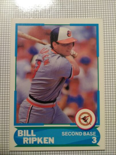 1988 Score Bill Ripken