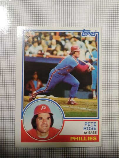 1983 Topps Pete Rose
