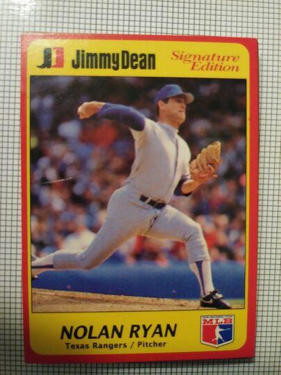 1991 Jimmy Dean Nolan Ryan