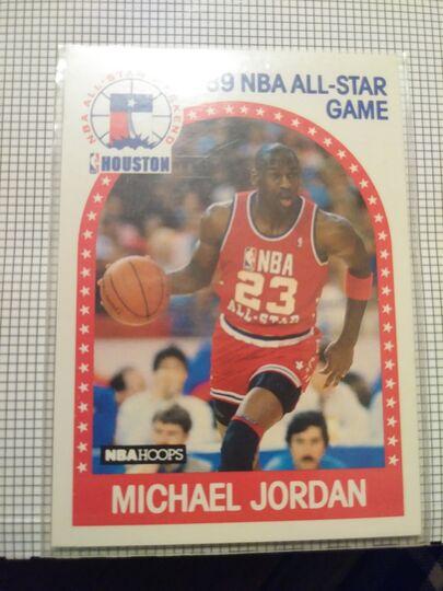 1989 NBA Hoops All Star Michael Jordan
