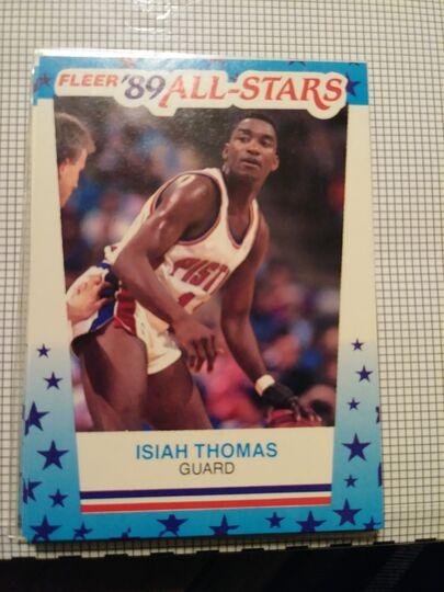 1989 Fleer All Star Isiah Thomas