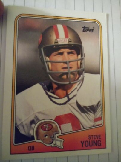 1988 Topps Steve Young