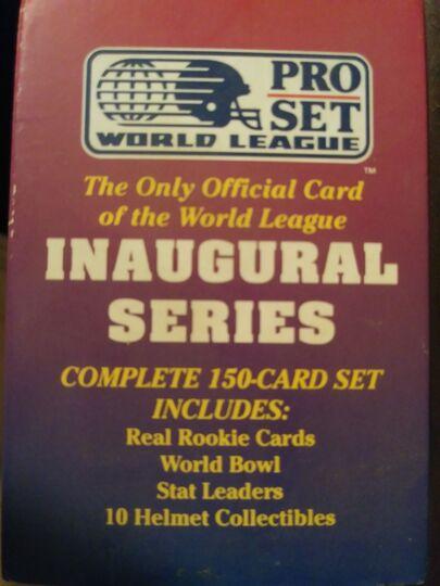 Pro Set World League Inaugral Series