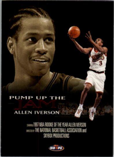 allen iverson pump up the jam