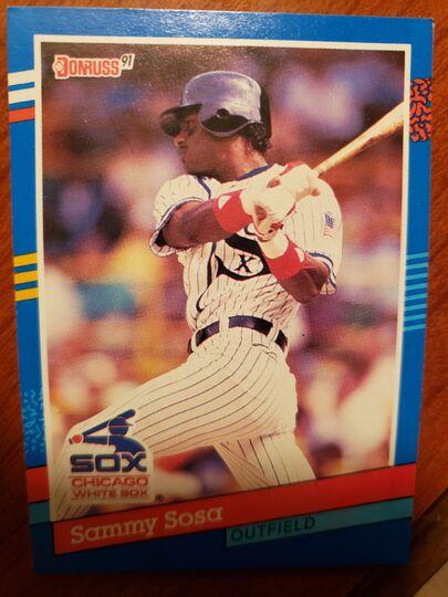 1991 Donruss Sammy Sosa
