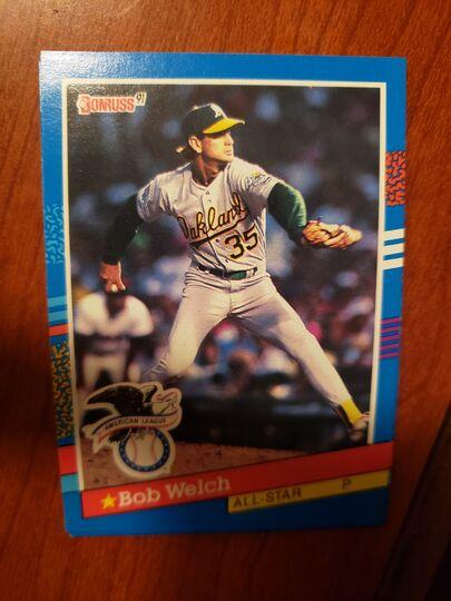 1991 Donruss Bob Welch
