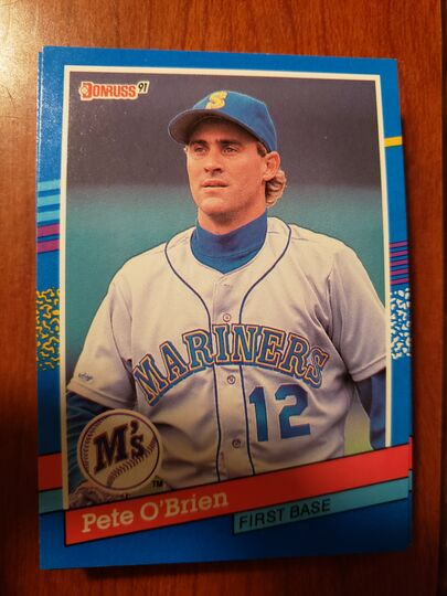 1991 Donruss Pete OBrien