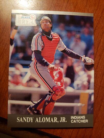 1991 Fleer Sandy Alomar Jr