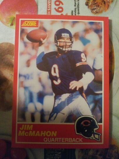 1989 Score Jim McMahon