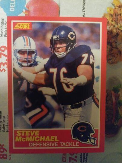 1989 Score Steve McMichael
