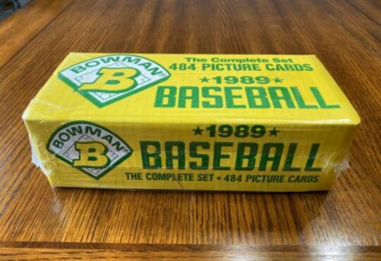 Baseball complete sets Collection Image
