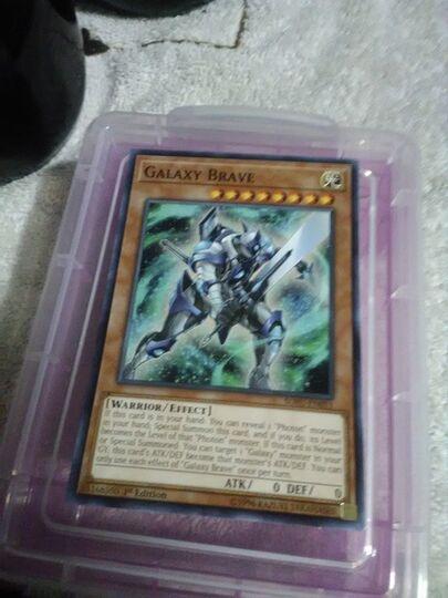 Galaxy brave card