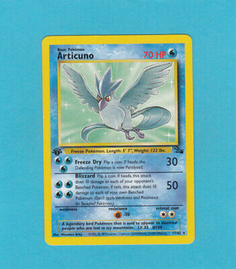 Fossil Set Pokemon Collection Image