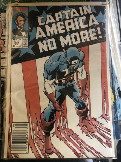 Mavin Captain America No More 332