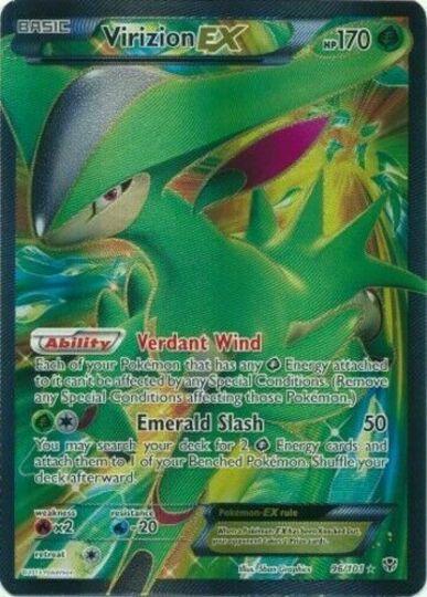 Virizion ex 96/101