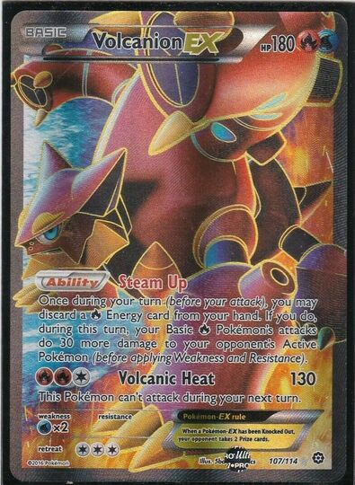 Volcanion ex 107/114