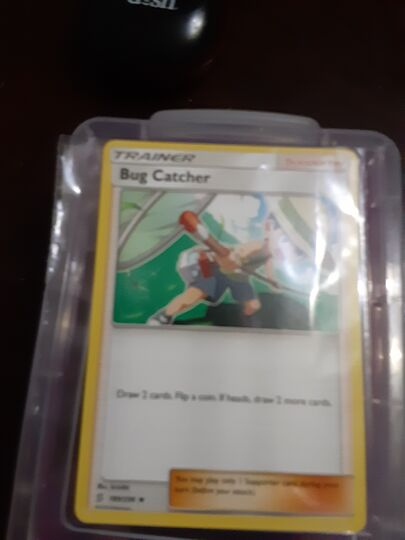 bug catcher card