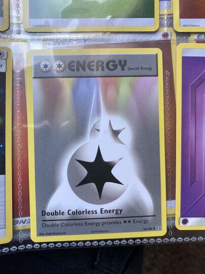 Uncommon NM-Mint Pokemon XY 1x Double Colorless Energy Evolutions 90//108