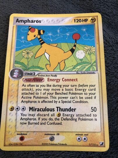 Ampharos Collection Image