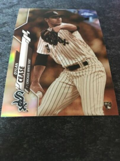 2020 topps chrome dylan cease 43 sepia refractor