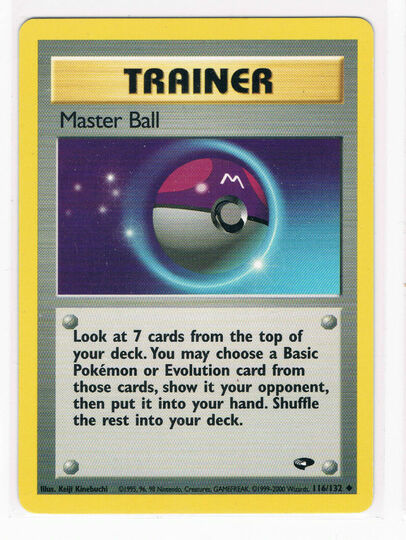 MASTER BALL 116/132