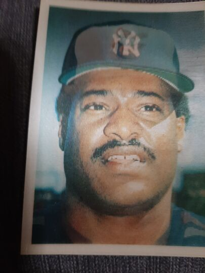 1986 Sportflics Triple Action Reggie Jackson/Don Baylor/Fred Lynn #57