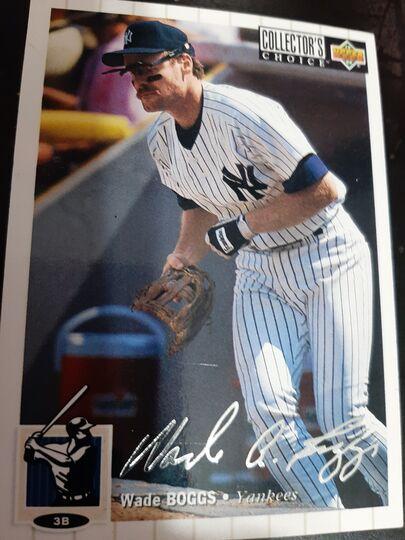 1994 Upper Deck Collectors Wade Boggs #380