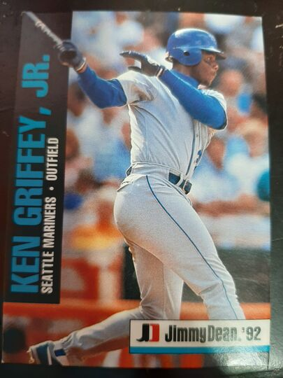 1992 MLBPA Jimmy Dean Ken Griffey Jr. #11 of 18