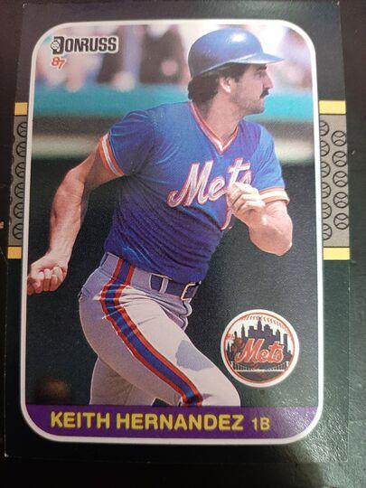 1987 donruss Keith Hernandez #76