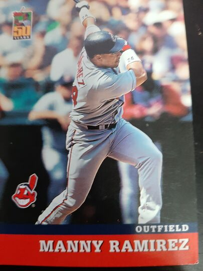 2001 Topps Collector Series Manny Ramirez #7 of 18