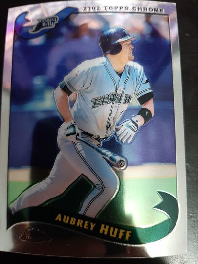 2002 Topps Chrome Aubrey Huff #232