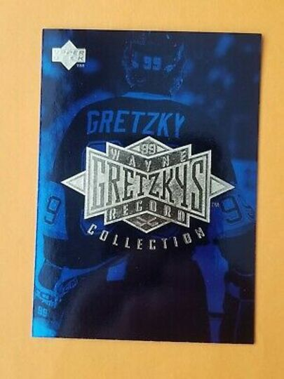 1995-96 Upper Deck Wayne Gretzky Collection Checklist
