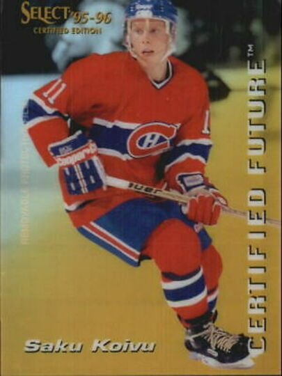 1995-96 Select Certified Future #5 Saku Koivu