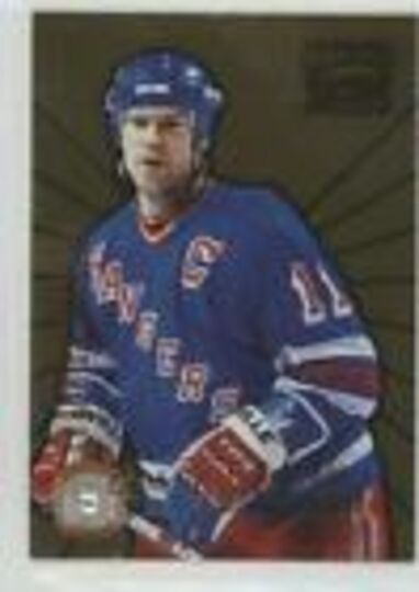 1996-97 Pinnacle Zenith Champion Salute Mark Messier #1