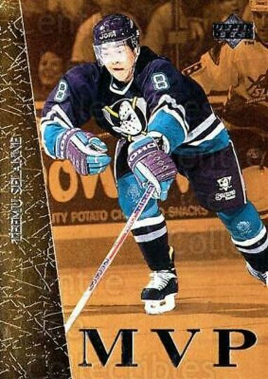 1996-97 Collectors Choice MVP Gold Teemu Selanne