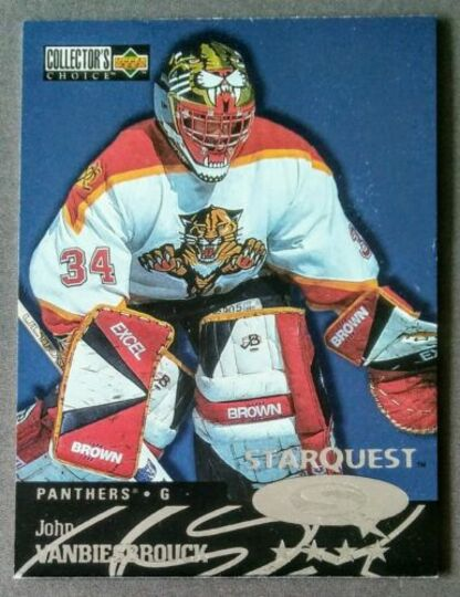 1997-98 Upper Deck Collector's Choice StarQuest John Vanbiesbrouck #SQ84
