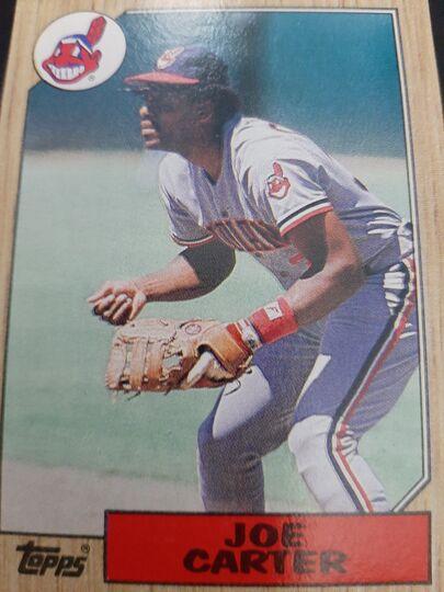1987 Topps Joe Carter #220