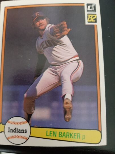 1982 donruss Len Barker #137