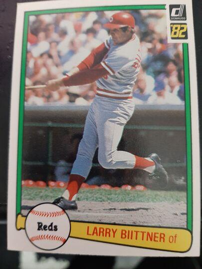 1982 donruss Larry Biittner #43